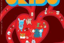 OKIDO Digital 11 / Okido 11 is all about blood! / by OKIDO Magazine