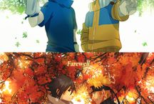 naruto & sasuke / friendship with Naruto and Sasuke from small to've got a family