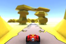 WIP: Road Story - 3D Action Rasing Game / Images of models, maps and game process in Road Story - 3D Action Racing Game