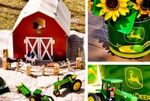Tractor Themed Birthday Party / by Ann Harquail (My Nearest & Dearest)