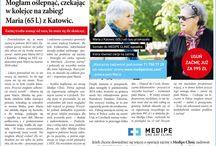 Media o zaćmie / Informacje wyciągnięte z mediów na temat leczenia zaćmy i Medipe Clinic