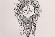Mandala-tatovering