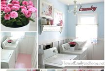 Laundry Room / Home decor ideas for making over your laundry or utility room.