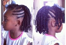 kid natural styles / Natural hair