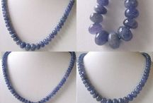 Stone Beads > Tanzanite Beads / Natural Tanzanite Beads in a variety of shapes, sizes and styles.