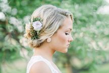Styled Shoot | Parsonage Events & James Saleska / Beautiful cascade bouquet