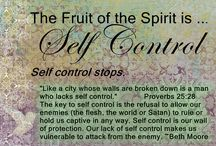 Self-Control / by Elleta Moore Wilson
