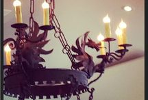 Let there be light / Lights, pendants, candles & chandeliers