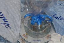 canastillas infantiles personalizadas con vajilla infantil porcelana