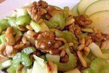 Summer salad con noci