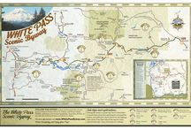 Maps, Guides and More / Maps and guides are available to provide a detailed look at points of interest and services in the area helping to orient our traveler!