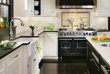 Kitchens - White cabinets