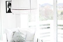 graphique noir et blanc / décoration et objets noirs et blancs