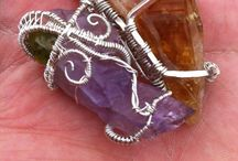 EarthStar Creation / My personal wirewrap collection and other forms of art made by yours truly.  You can purchase my art directly at www.EarthStarCreation.com