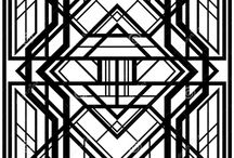 ABSTRACT ART DECO