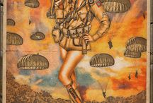 Military artwork