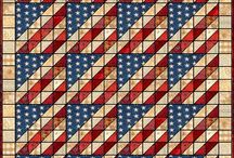 Quilts patriotic / by Cindy Peterson