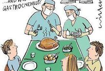 med humour