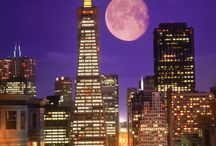 Moonstruck -- La Bella Luna / There is something so magical and beautiful about the moon!