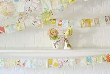 Banners,Crafts,Flags,Wreaths,Flowers,Bunting&Such / by April Lawson