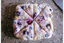 blue berry scones