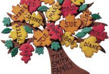 fall reunion family tree