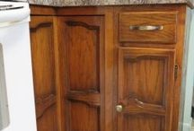 Restoring cabinets / Our proprietary wood restoration Tune-Up restores & repairs wood cabinets and other wood surfaces.  Most kitchens are complete in only 1 day.