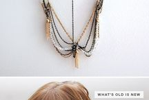 diy self clothes and accessories / by Christa Burns