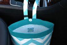 trash bag for car