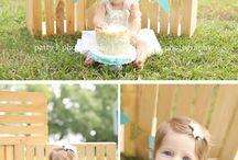 cake smash - 1 year old