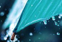 yağmur ve şemsiyem