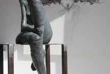 скульптура и три д модели
