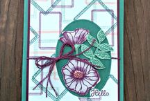 Stampin up Swirly Frames