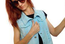 Дизайнерские джинсовые жилетки / 100% эксклюзивная ручная работа, купить можно на сайте juliemalic.livemaster.ru, juliemalicwear.etsy.com или через контактный телефон: +7-929-939-95-06
