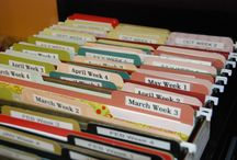 School Organization / This board contains pins to help teachers get organized!!