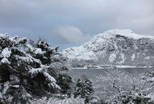 Зима - Winter / Природа в Норвегии