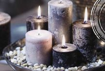 •●• Candles •●• / For More Inspiration Check Out My Bella Villa..on Facebook!