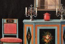 Art Deco Interior Dinning