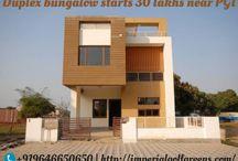 Duplex bungalow starts 30 lakhs near PGI