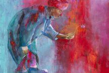 Schilderijen Atelier Met Verve / Schilderijen van Conny Verschuuren. Eigenaar Atelier Met Verve