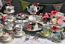 High Tea decorations