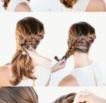 Dress and hair