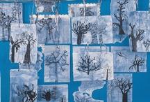 Winter display board