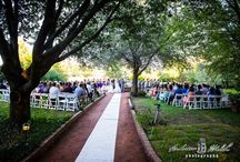Summer House Lawn - West / One of the many venues featured at Clark Gardens Botanical Park in Weatherford, Texas