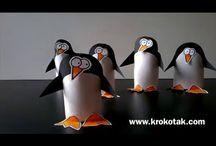 Pinguino di carta