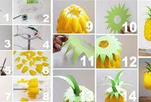 ananas cucchiai plastica