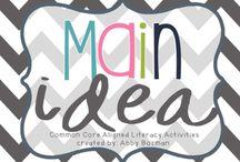 Reading strategies - main idea