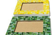 pic frames mosaic