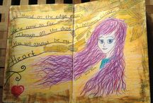 My Personal Art Journal / This is pictures from my personal Art Journal