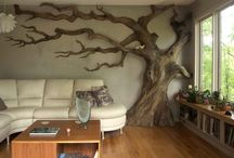 Trees on walls